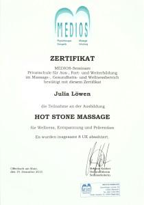 Hote Stone Massage